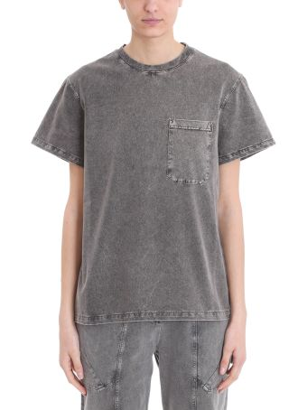 Stella McCartney 80 Style Washed Grey T-shirt