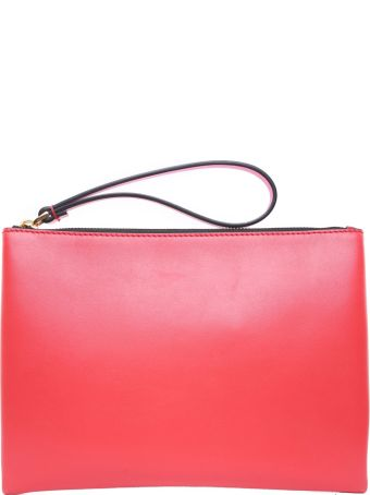 Marni Bi-colour Smooth-leather Clutch