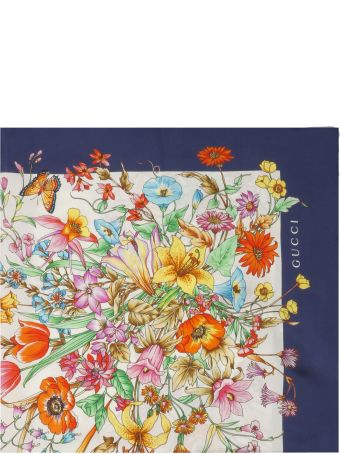 Gucci Floral Scarf