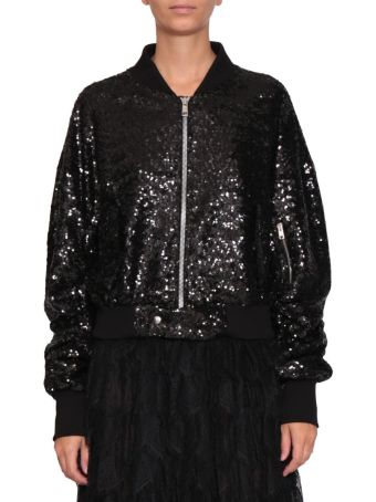 Amen Sequined Bomber Jacket