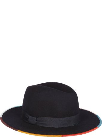 Paul Smith Contrast Trim Panama Hat