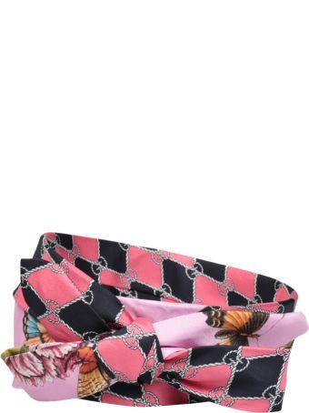 Gucci Botanic Chain Silk Headband