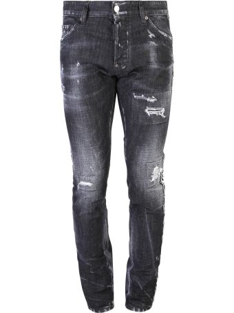 Dsquared2 Black Cool Guy Jeans