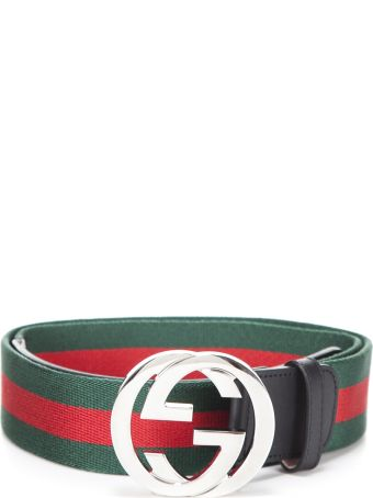 Gucci Web Belt