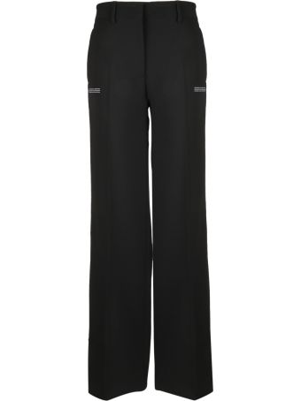 Off-White Logo Side Strap Trousers