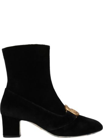 Gucci Velvet Boots