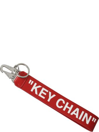 Off-White Printed Keyring