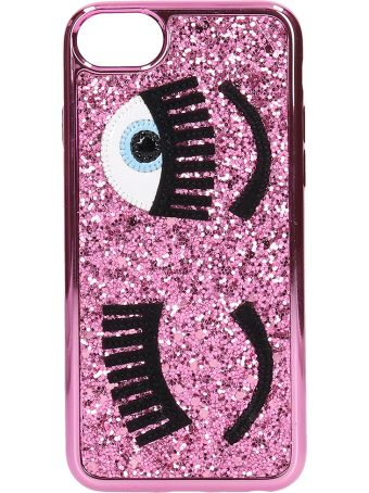 Chiara Ferragni Cover Iphone S6-7-8  Flirting Glitter