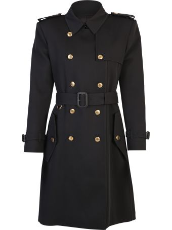 Givenchy Black Double Brested Coat