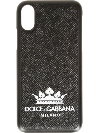 Dolce & Gabbana Logo Print Iphone X Case