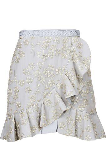 self-portrait Ruffled Skirt