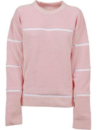 Christopher Kane Pad Zip Sweater