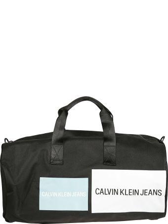 Calvin Klein Logo Duffle Bag