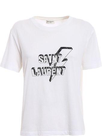 Saint Laurent T-shirt  Eclair