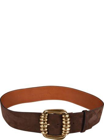 Etro Wide Buckle Belt