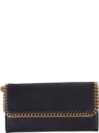 Faux Leather Falabella Wallet