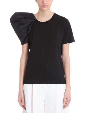 Stella McCartney Black Puffed T-shirt
