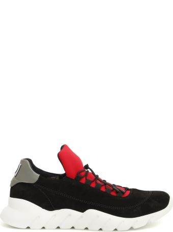 Fendi Multicolor Sneakers With Embroidered Logo