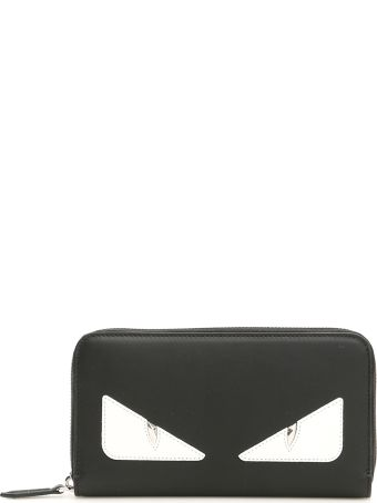 Fendi Bag Bugs Zip-around Wallet