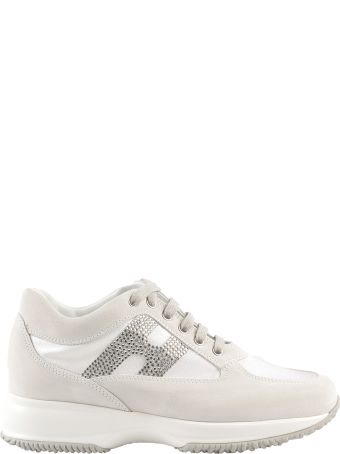 Hogan Studded Logo Sneakers