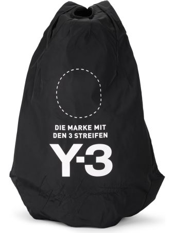 Y-3 Yohji Backpack Black Nylon Backpack