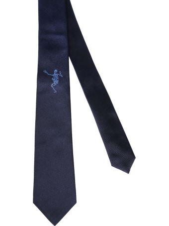 Alexander McQueen Dancing Skeleton Tie