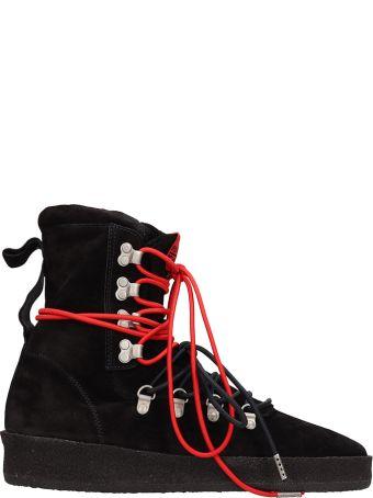REPRESENT Dusk Boot Black Suede