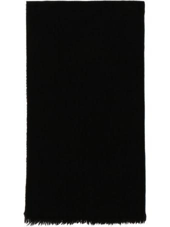 Rick Owens Black Cashmere Ideal Stole