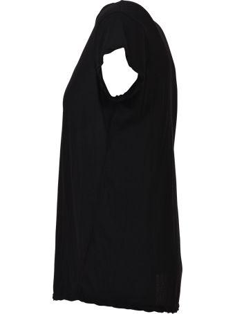 James Perse Black V-neck T-shirt