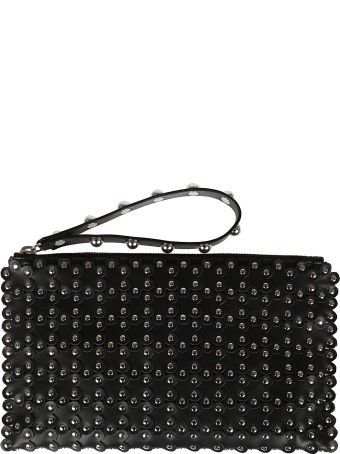 RED Valentino Red Valentino Beaded Clutch
