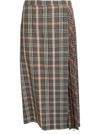 Jucca Checked Skirt