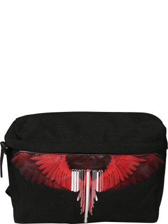 Marcelo Burlon Logo Print Shoulder Bag