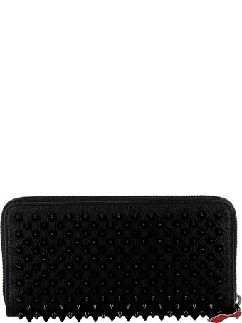 Christian Louboutin Black Leather Wallet