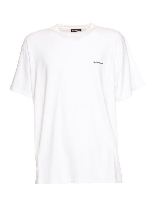 Balenciaga Cotton Oversized T-shirt
