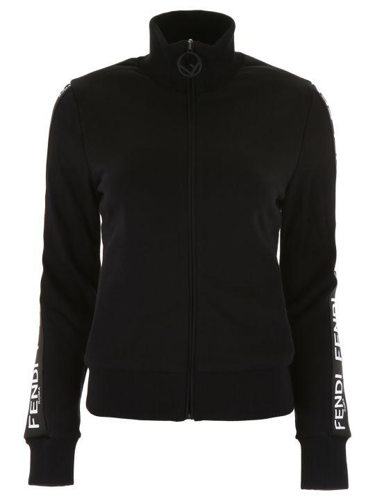 Fendi Zipped Sweatshirt
