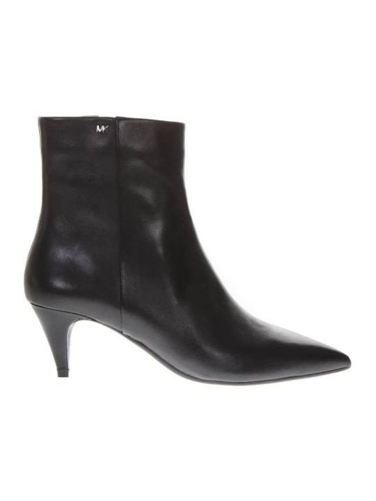 MICHAEL Michael Kors Blaine Flex Black Leather Ankle Boot