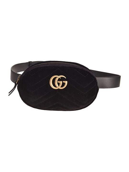 Gucci Logo Plaque Belt Bag