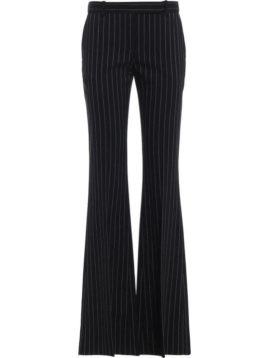 Alexander McQueen Pinstripe Bootcut Trousers