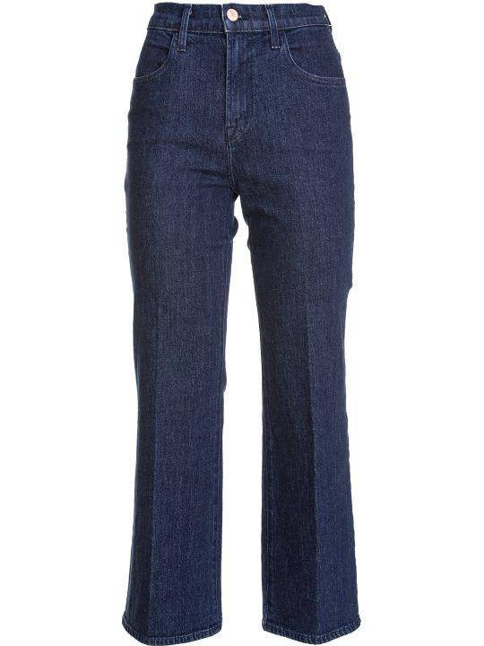 J Brand Joan Flared Cropped Jeans
