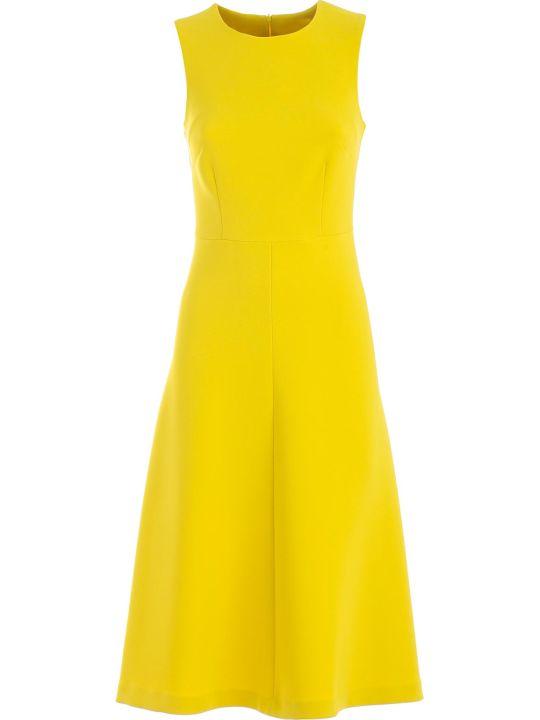 Parosh Dress W/s A Line W/waist Cut