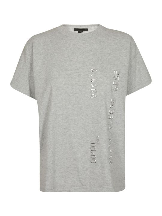 Alexander Wang Logo Printed T-shirt