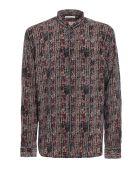 Saint Laurent Batik Imprime Ethnical Shirt