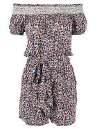 Tory Burch Floral Playsuit