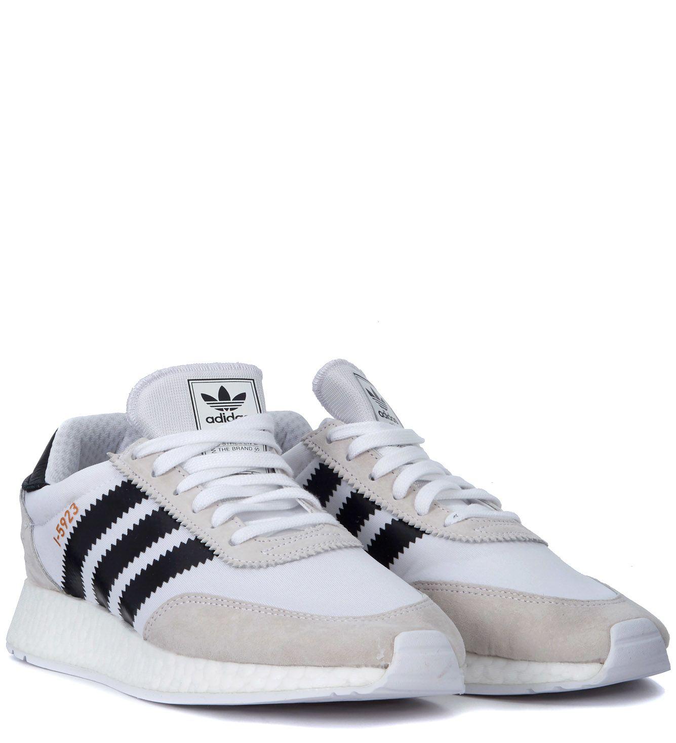 adidas I-5923 MESH & NUBUCK SNEAKERS IHT2fYdyUH