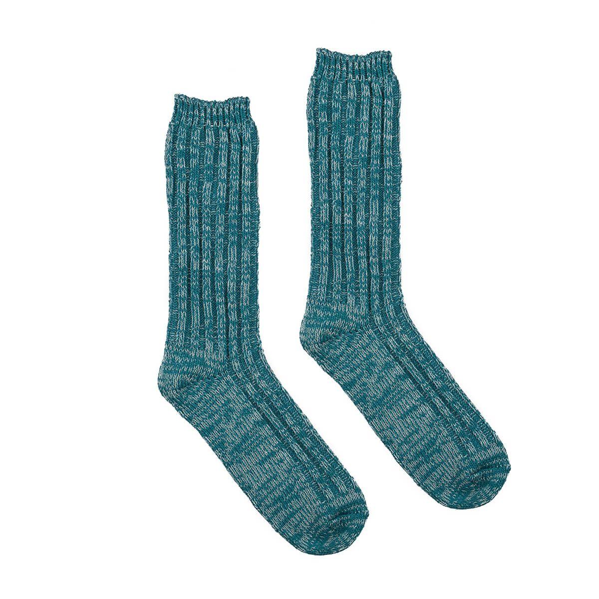 USED FUTURE Mix Socks in Green
