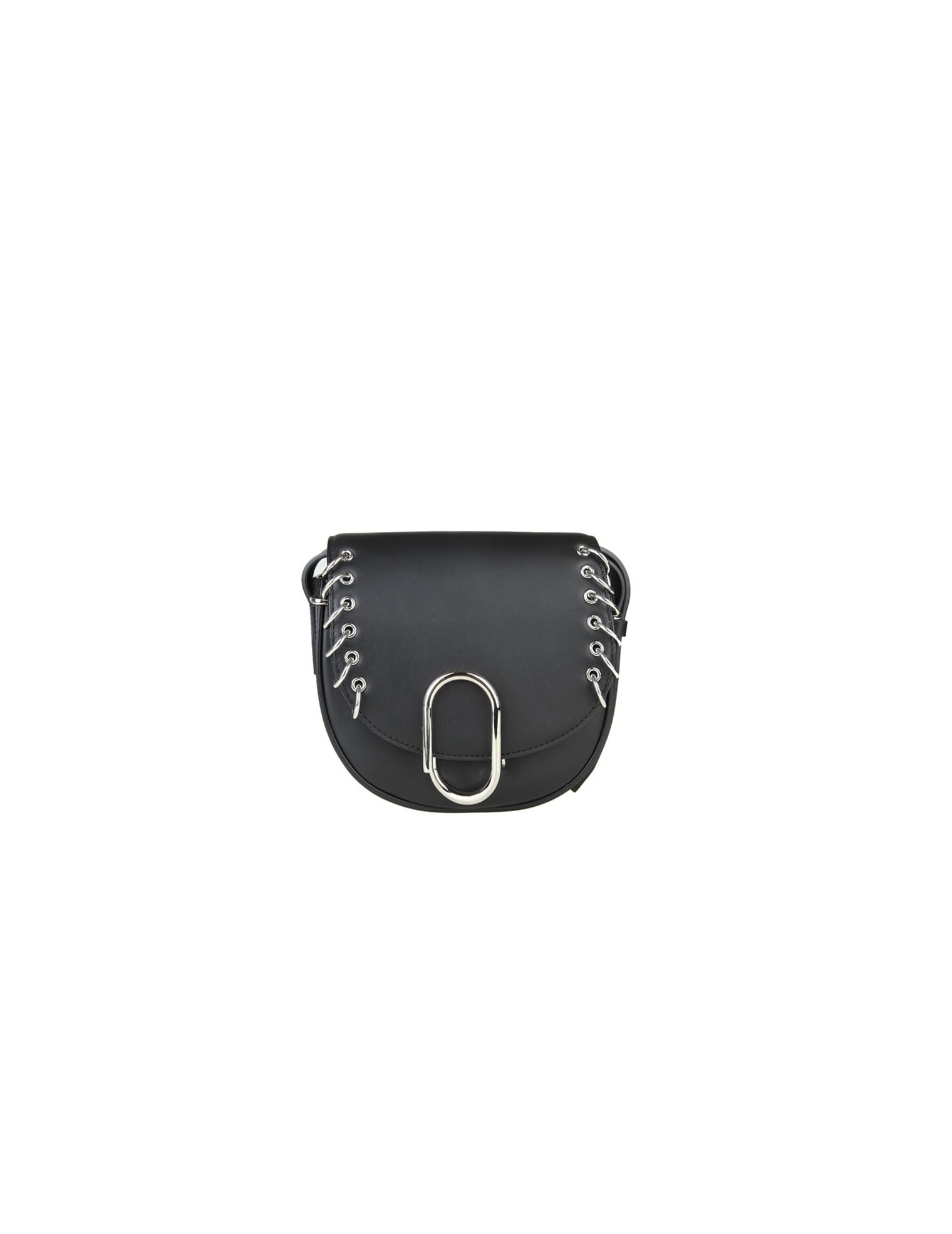 3.1 Phillip Lim Phillip Lim Alix Mini Saddle Crossbody Skin With Piercing  Black Colo bcc64394f