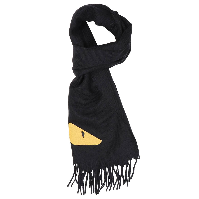 42ec2206b20 ... france fendi scarf scarf men fendi black 3f4a5 76d25
