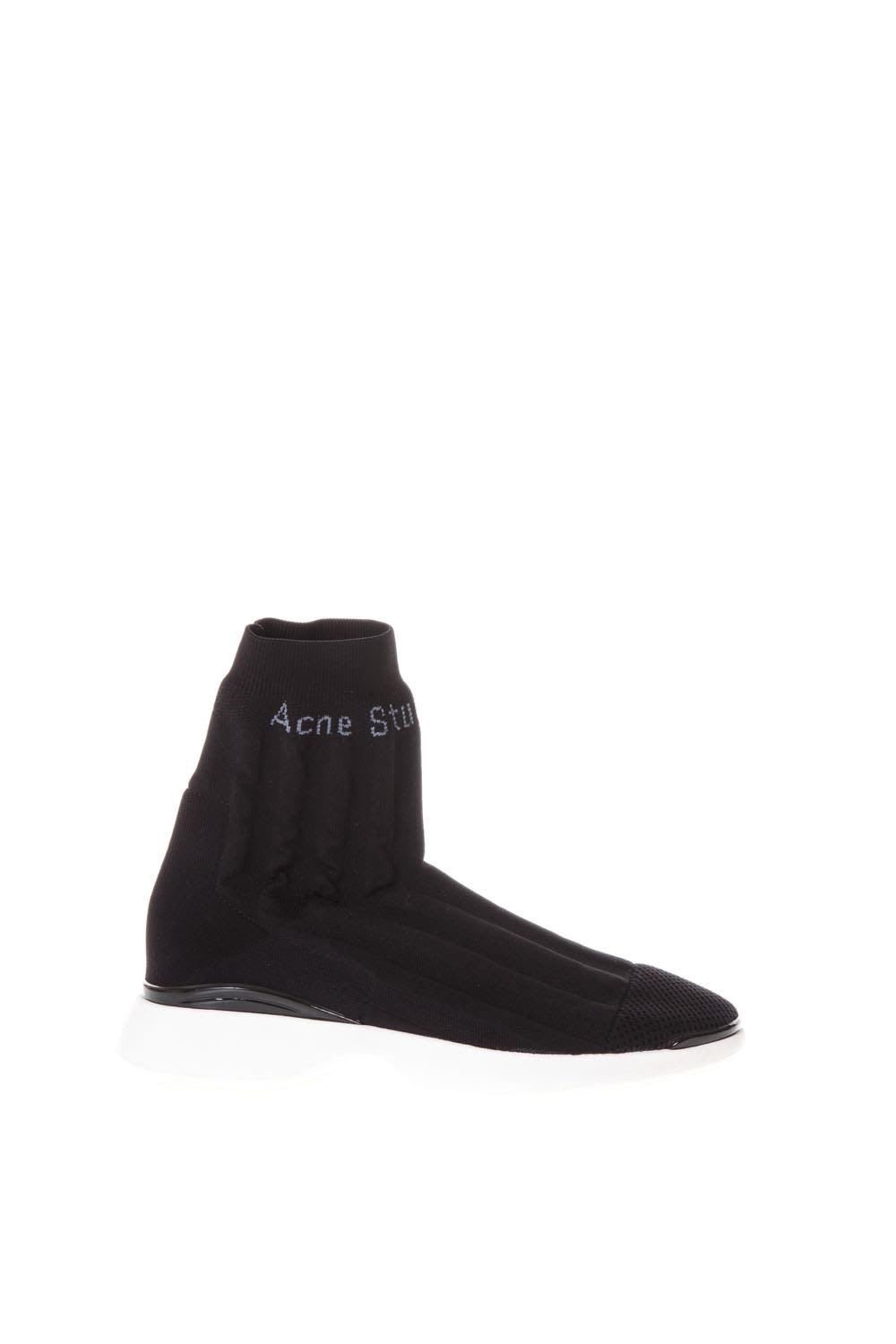 Acne Batilda Sock Sneakers In Nyloon