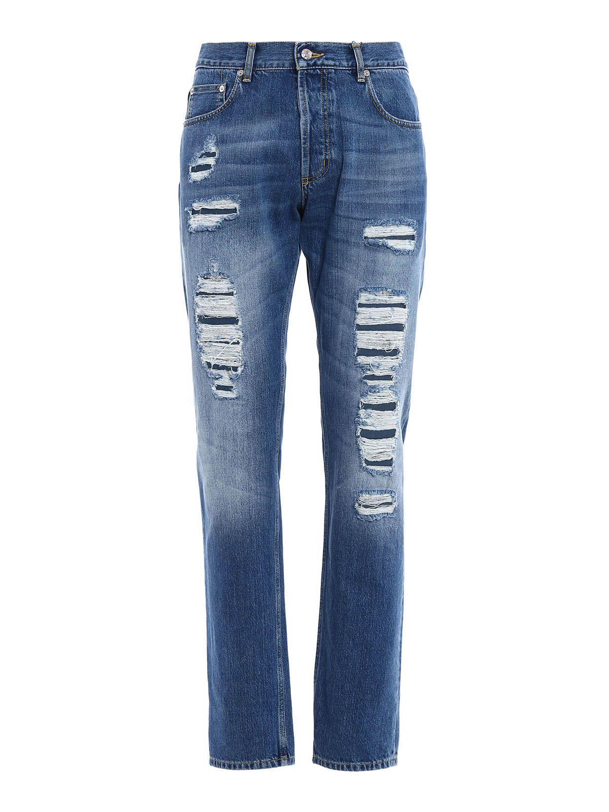 Alexander McQueen Jeans 10347142