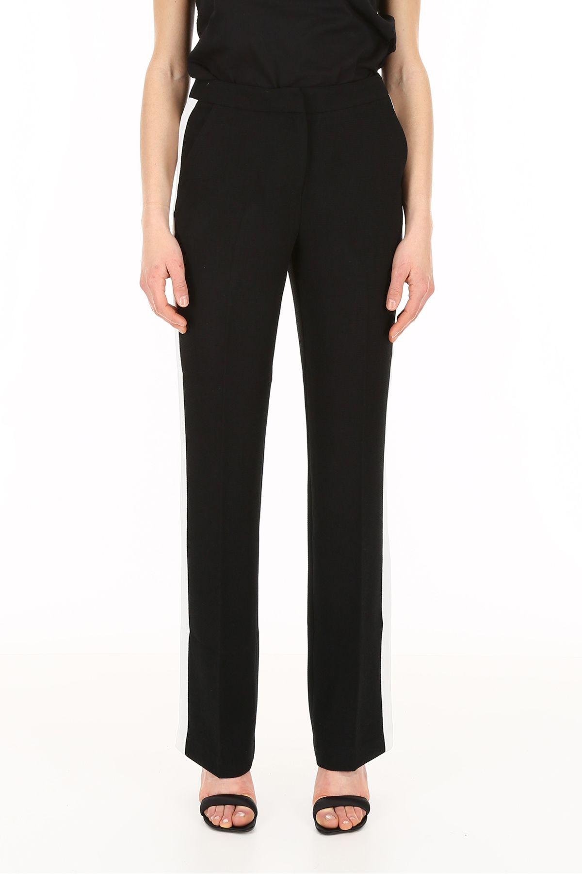 Pants for Women On Sale, Black, poliestere, 2017, 34 Essentiel